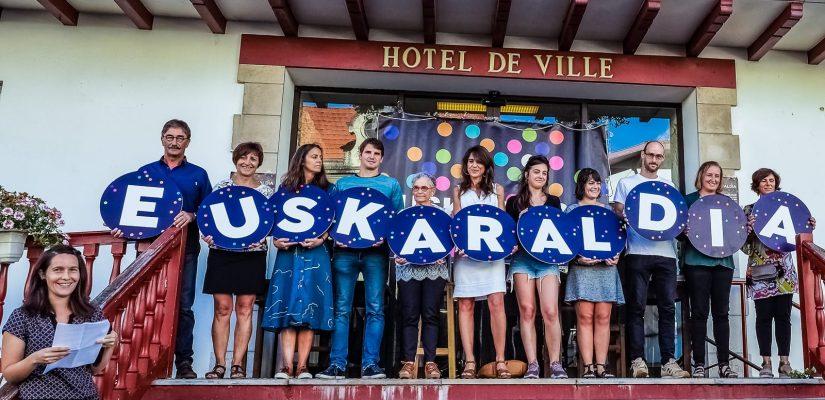 Euskaraldia, photo des 11 participants Hendayais