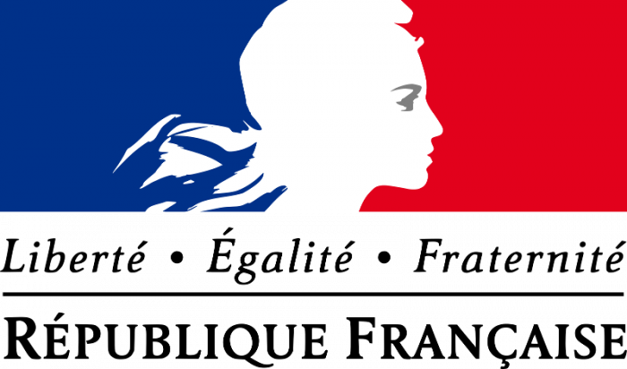 logo de la République francaise Liberté, égalité, fraternité