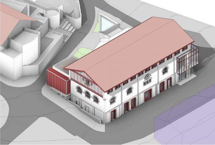 stationnement des v hicules place de la halle hendaye. Black Bedroom Furniture Sets. Home Design Ideas