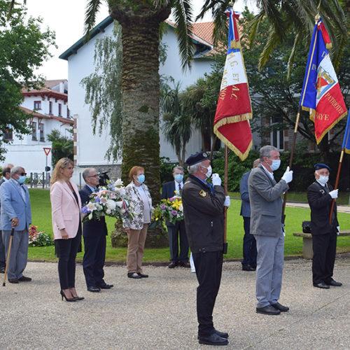 Cérémonie 18 juin - portes drapeaux