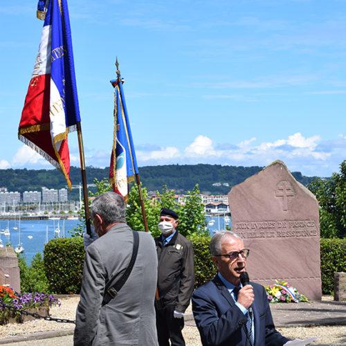 Cérémonie 18 juin - Discours M. Maire