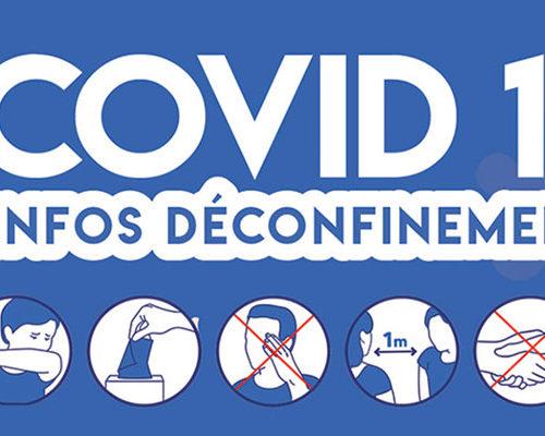 Covid 19 - Infos déconfinement
